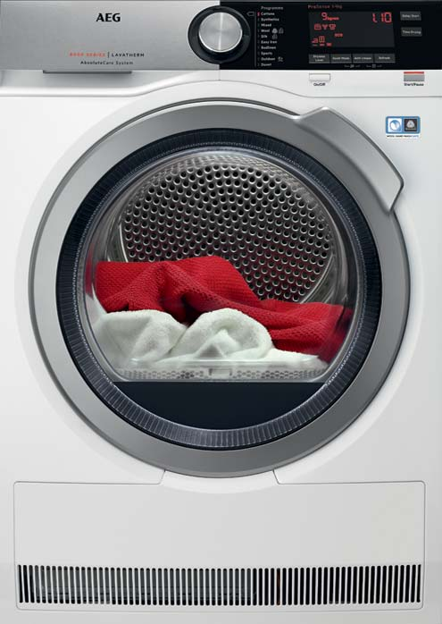 Animated Tumble Dryer ~ Series tumble dryer aeg laundry products